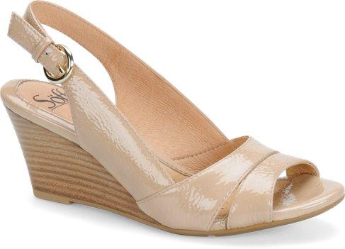 Sandal Tan Patent Sofft Prischa