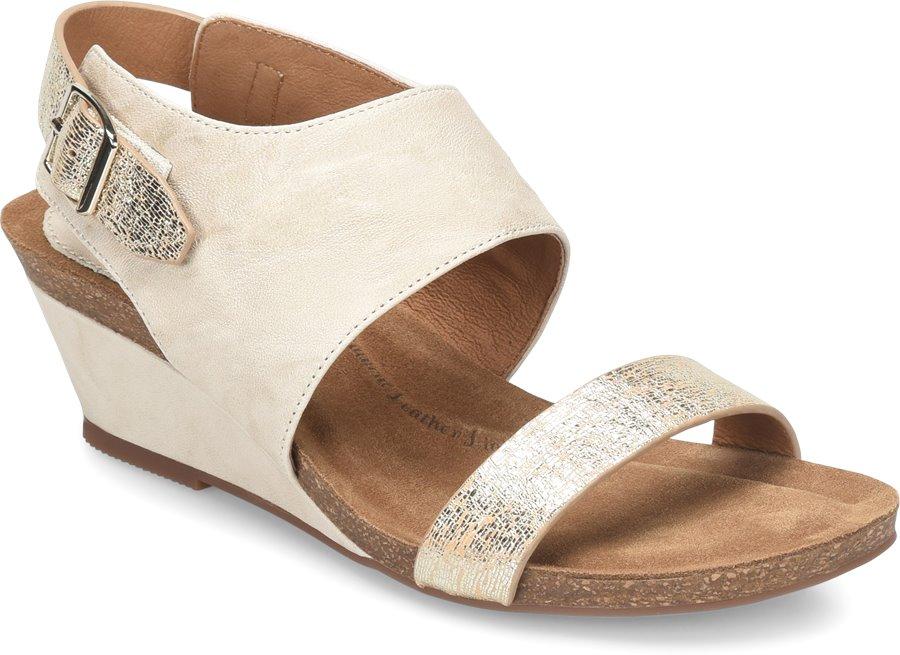 6ba666f5c60 Sofft Vanita in Light Grey Platino - Sofft Womens Sandals on ...