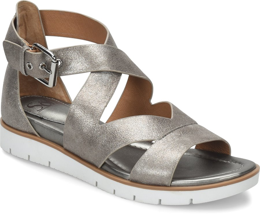 1209d7779c4d Sofft Mirabelle in Anthracite - Sofft Womens Sandals on Shoeline.com