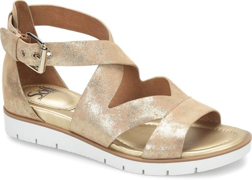 93b40635b2b8 Sofft Mirabelle in Platino - Sofft Womens Sandals on Shoeline.com