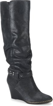 Black Electric Suede Sofft Ariana