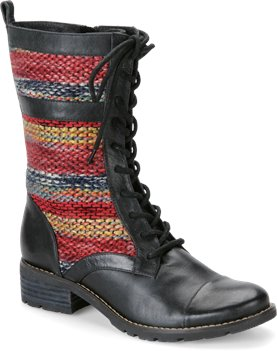 Black Red Multi Sofft Avery
