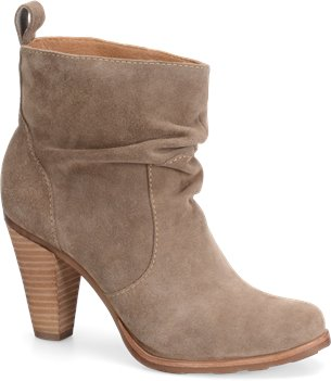 Stone Taupe Velour Suede Sofft Toby
