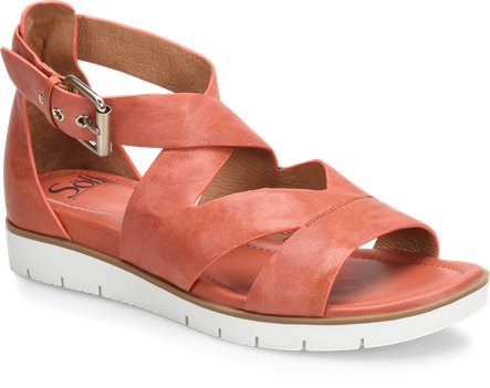5694a156f Sofft Mirabelle in Mango - Sofft Womens Sandals on Shoeline.com
