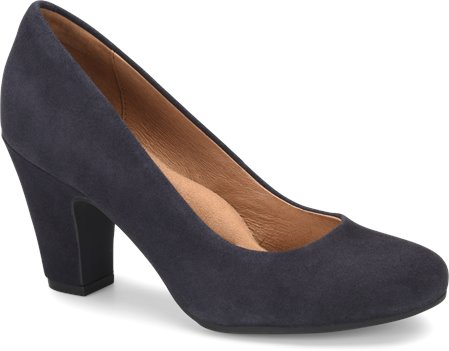 Navy Suede Sofft Madina
