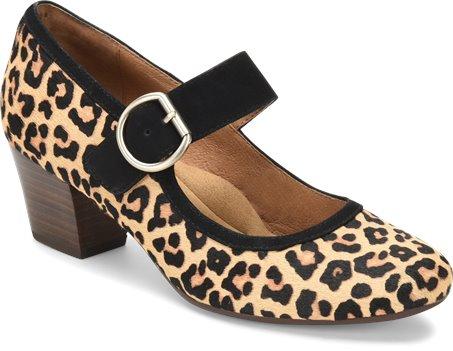 Leopard Tan Sofft Lorna
