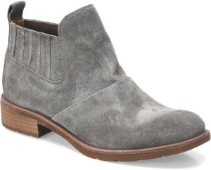 Steel Grey Suede Sofft Bellis