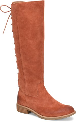 Rust Suede Sofft Sharnell II