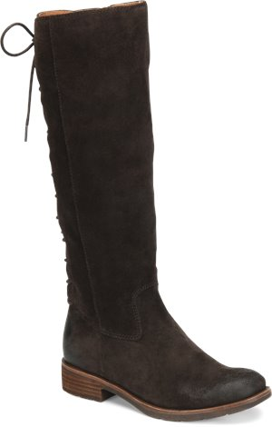Dark Brown Suede Sofft Sharnell II