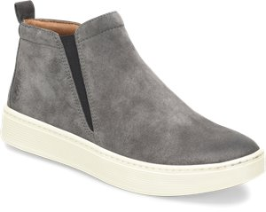 Steel Grey Suede Sofft Britton II