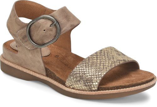Mist Grey/Taupe Gold Sofft Bali