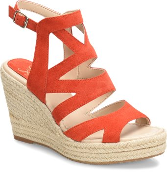 Tomato Suede Sofft Shandy