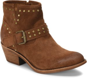 Light Brown Suede Sofft Allene