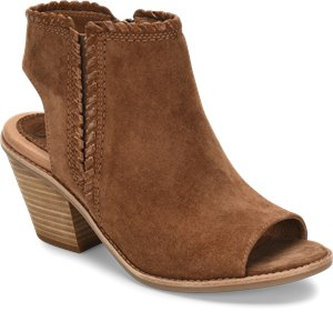 Light Brown Suede Sofft Maleigha