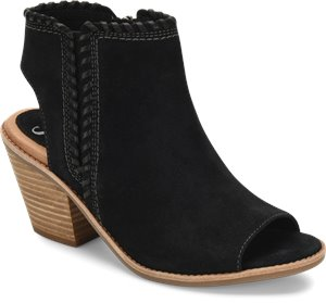 Black Suede Sofft Maleigha
