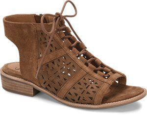 Brown Suede Sofft Nora