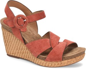 Coral Suede Sofft Casidy