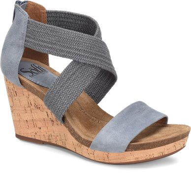 Chambray Suede Sofft Chalette