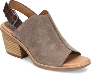 Taupe Suede Sofft Pelonia