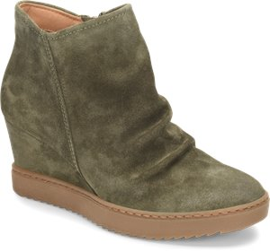 Olive Fatigue Suede Sofft Siri