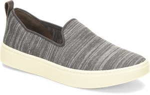 Steel Grey Sofft Somers Slip On Knit