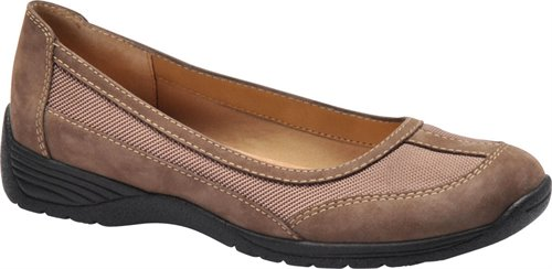 Brown Suede Softspots Taite