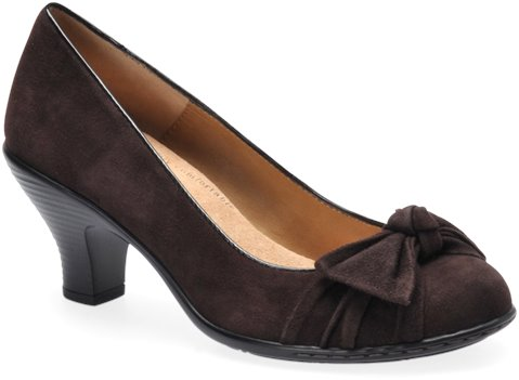 Coffee Suede Softspots Samantha
