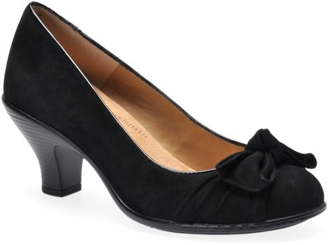 Black Suede Softspots Samantha