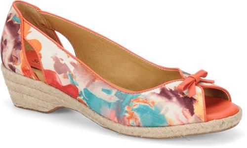 Peach Floral Softspots Aden