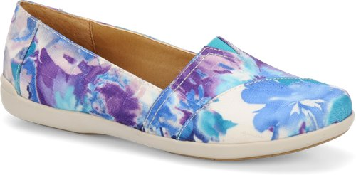 Blue Floral Softspots Amena
