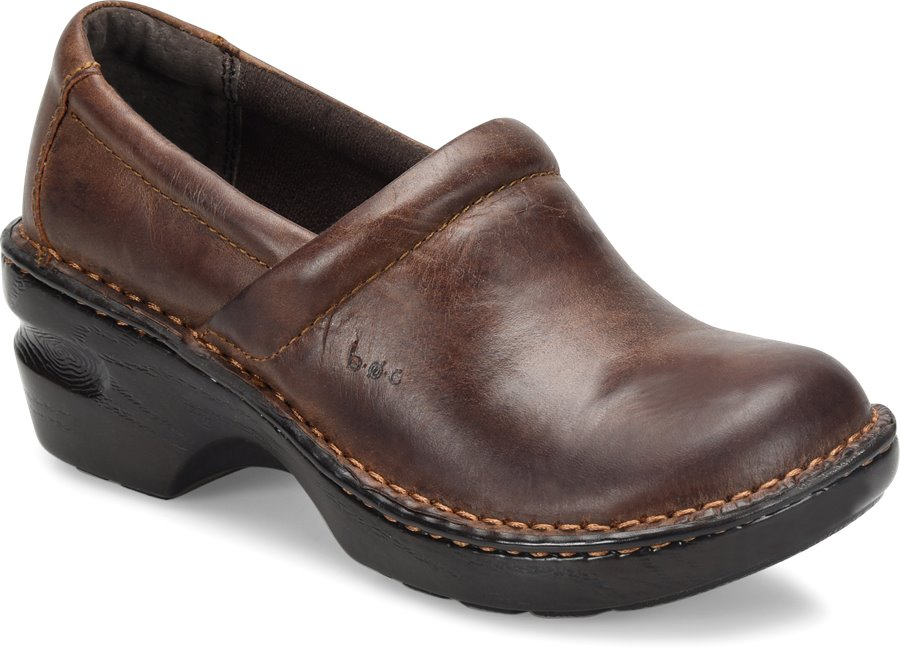 BOC Peggy : Brown Oiled - Womens