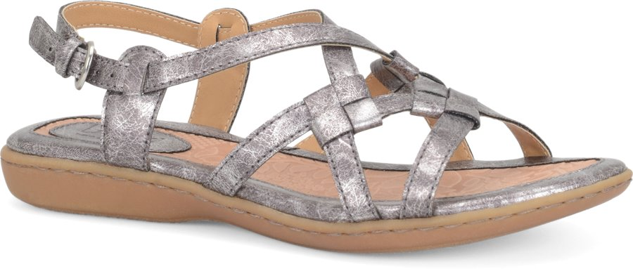 Boc Kesia In Pewter Boc Womens Sandals On Shoeline Com