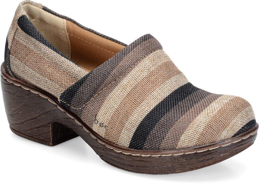 BOC Nadiyya : Dark Brown Striped - Womens