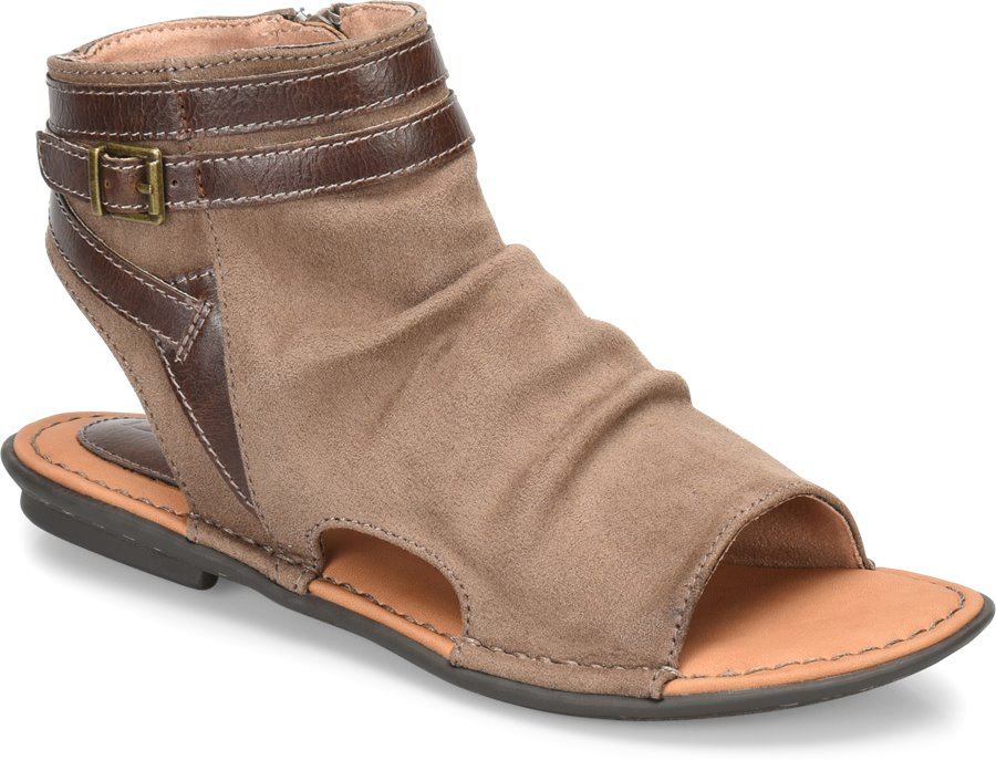 BOC Elize : Taupe Fabric - Womens