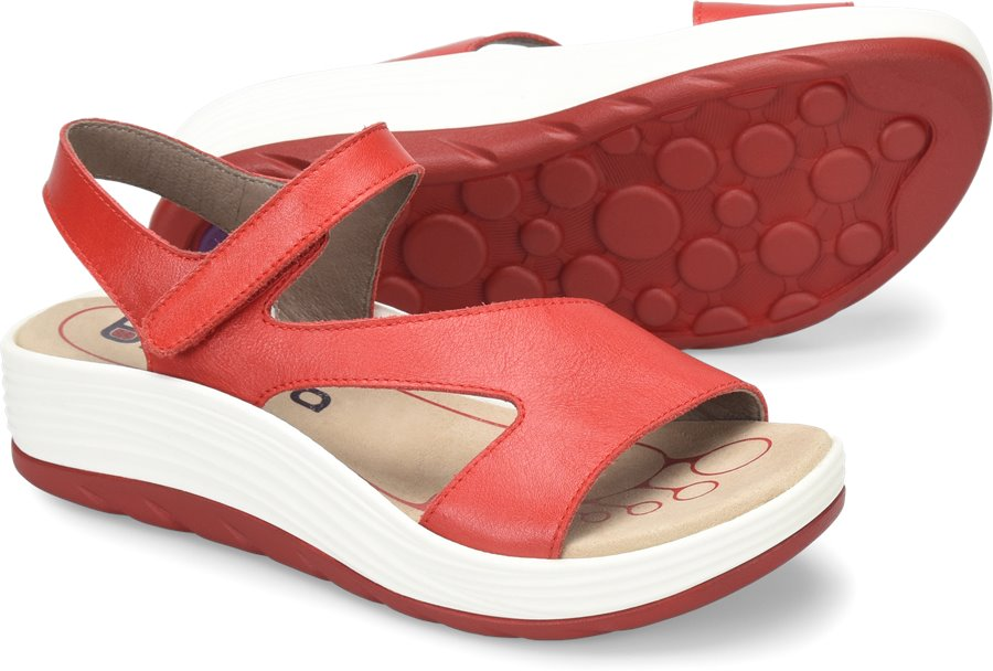 Bionica Cybele : Fire Red - Womens
