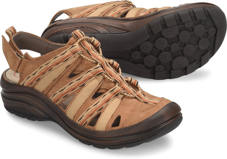 Bionica Malabar : Brown Nubuck - Womens