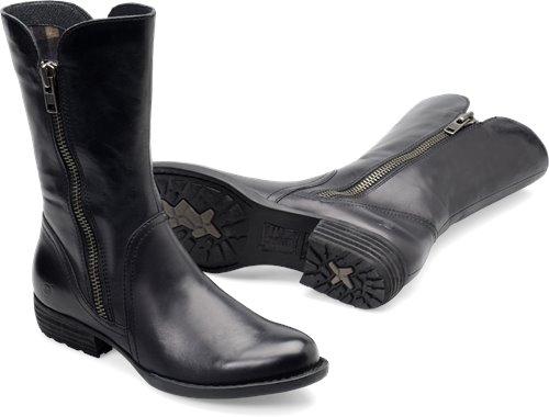 Born Ivory In Black Born Womens Boots On Bornshoes Com