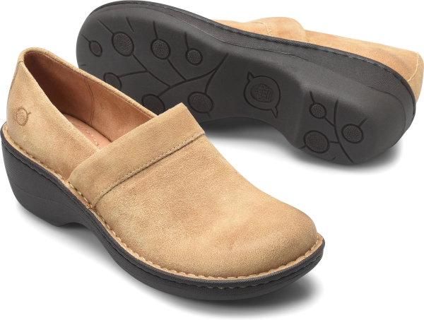 BORN Toby Duo : Beige/Tan - Womens