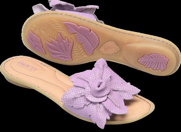 BORN Mai Floral : Purple - Womens