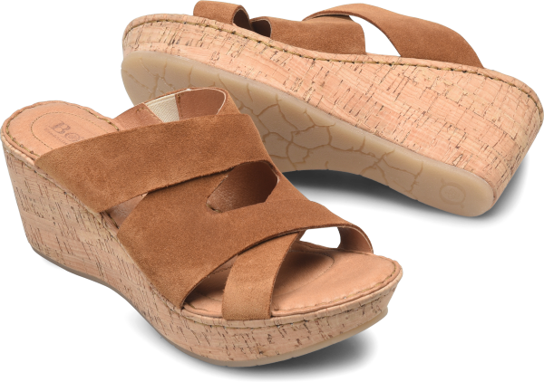 BORN Padron : Brown - Womens