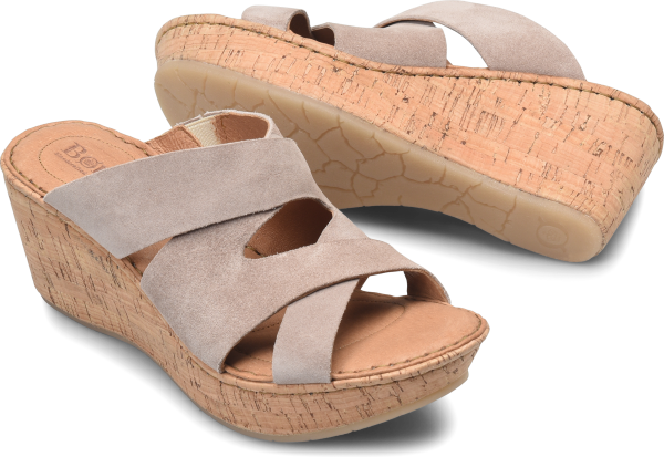 BORN Padron : Gray - Womens
