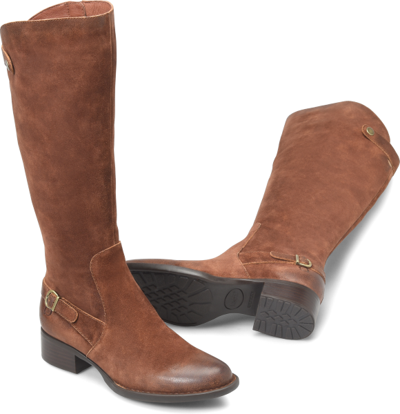 Leather Riding Boots For Women