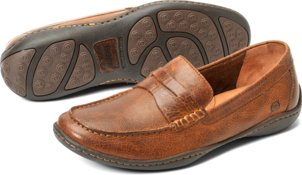 BORN Simon : Brown - Mens