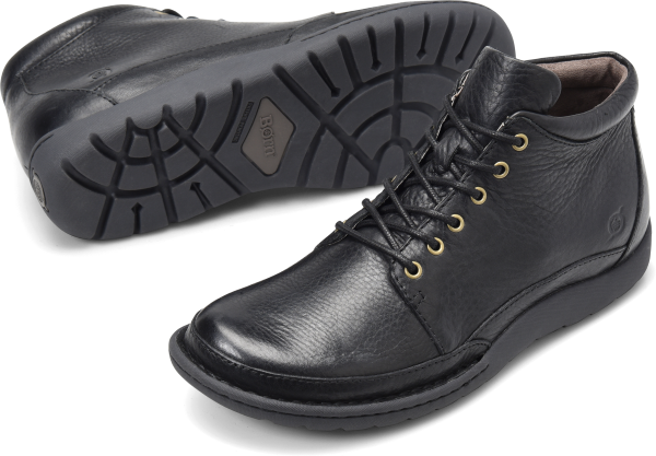 BORN Nigel Boot : Black - Mens