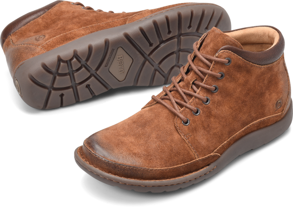 BORN Nigel Boot : Brown - Mens