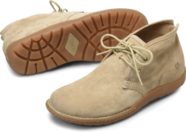 BORN Nigel Chukka : Beige/Tan - Mens