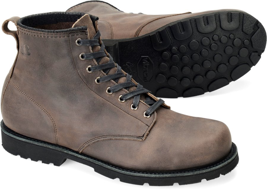 Brooklyn Boot Rough Lands : Grey Grizzly - Mens