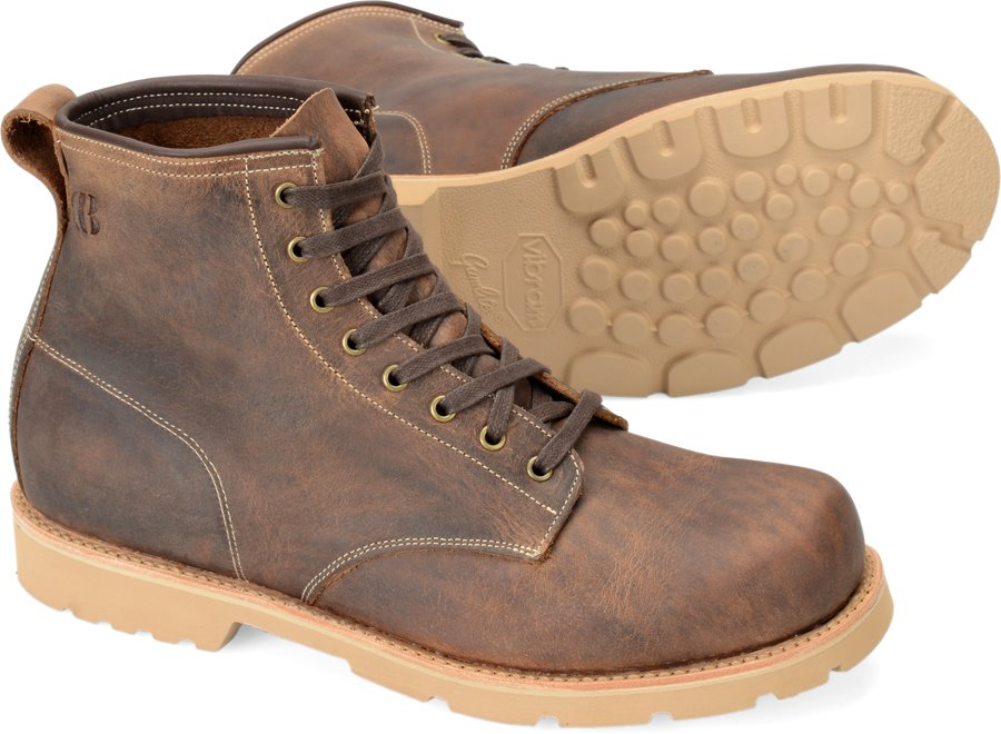 Brooklyn Boot Bison Pull Up : Chip Tan - Mens