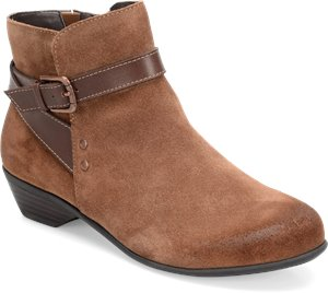 Whiskey Suede/Brown Comfortiva Ryder