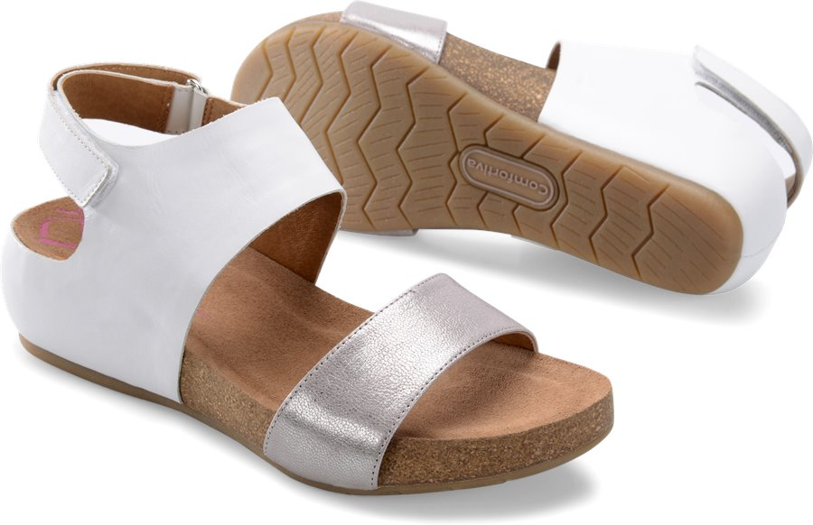 Comfortiva Seeley : White/Anthracite - Womens
